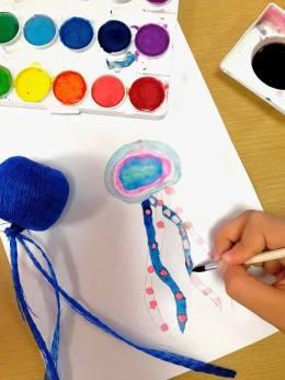 cours d'arts plastiques pour enfant de l'arcl de robion