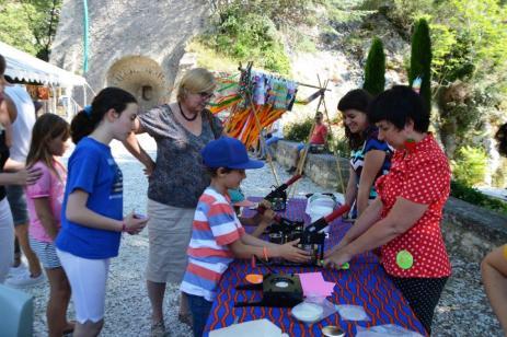 Robion fête ARCL atelier arts enfants
