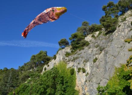 Robion fête ARCL cerf volant 2