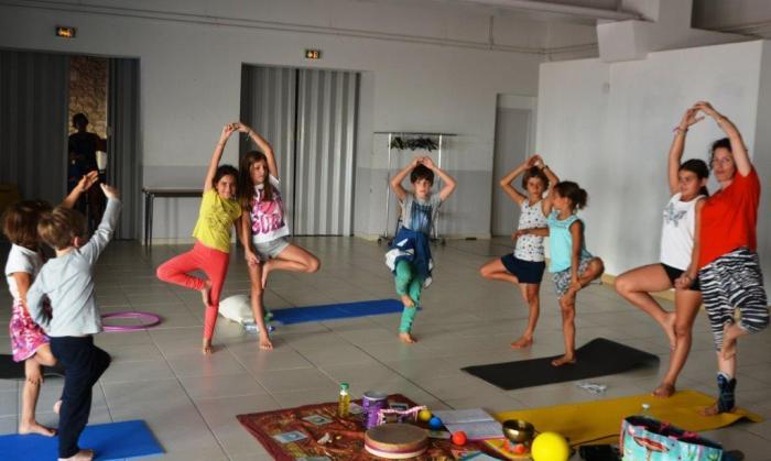 Robion ARCL yoga enfants2