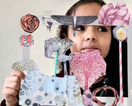 arts plastiques robion, activité dessin à robion
