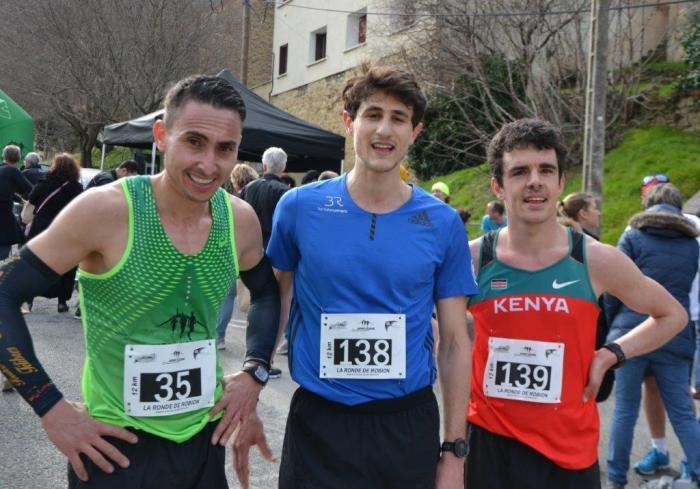 Robion course podium hommes 12 km
