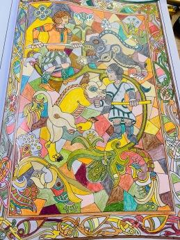 atelier coloriage pour adulte robion luberon
